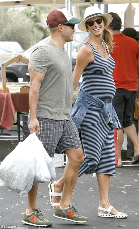 stacy keibler engagement ring stacy keibler shows off growing bump with husband jared