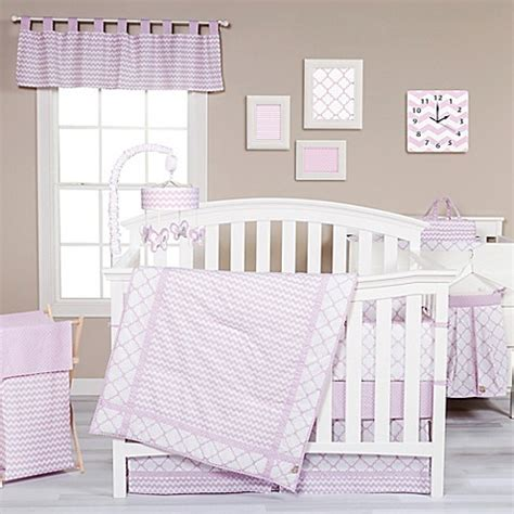 trend lab bedding trend lab 174 orchid bloom crib bedding collection bed bath beyond