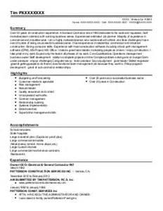 Chief Estimator Sle Resume by Chief Estimator Resume Exle Bryant Paint Wall Cover Kingsland