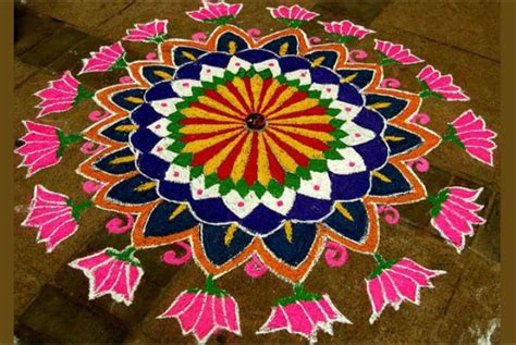 Holi Decoration Ideas For Office by Rangoli Designs Pongal Decorations Photos Pics 229756