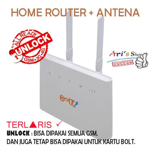 Huawei B310 Bolt Unlock Modem Wireless Wifi Router 150mbps 4g Lte jual home router huawei b310 bolt unlock gsm 3g 4g tanpa
