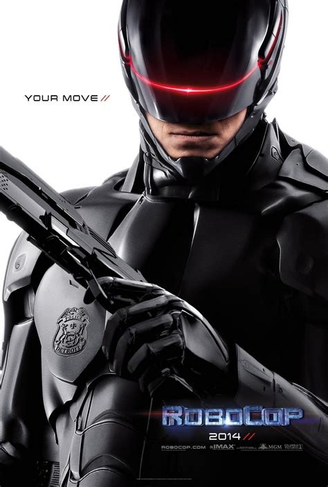 robokap film robocop 2014 movie poster the tagline heralds the old
