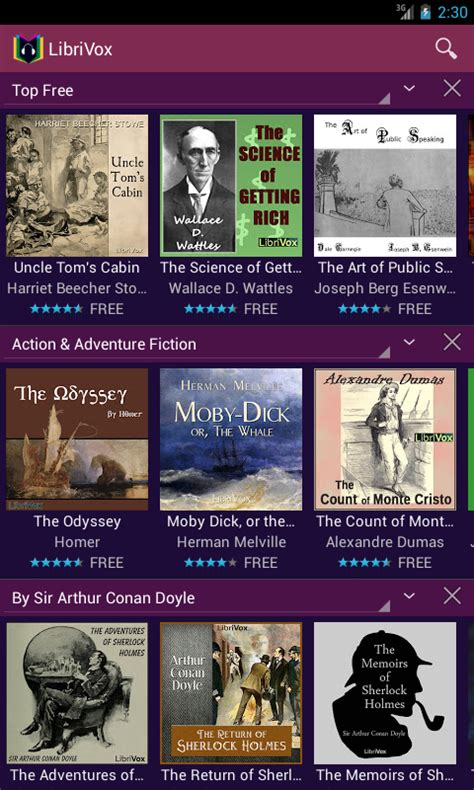 free book apps for android librivox audio books free screenshot