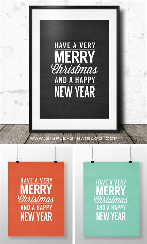 printable christmas wall decorations merry printable wall