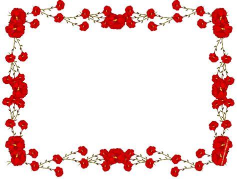floral pattern border png free digital faux vintage flower frame blumenrahmen