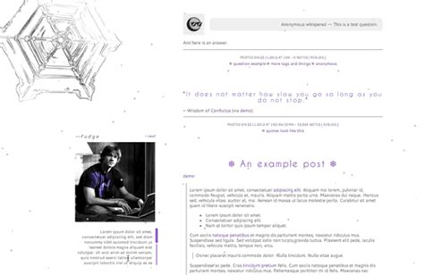tumblr themes octomoosey themes by eris