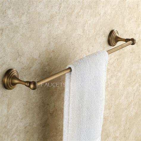bathroom towel rods brass towel bars for bathrooms my web value