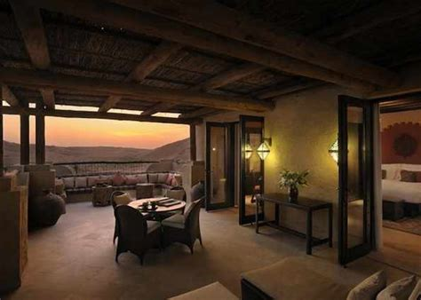 the terrace room luxury resorts abu dhabi qasr al sarab desert resort deluxe terrace room
