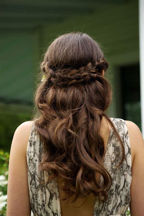 hairstyles braids crown quick hairstyles for long hair glam radar