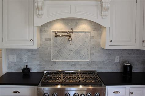 honed marble backsplash bianco carrara marble backsplash flickr photo