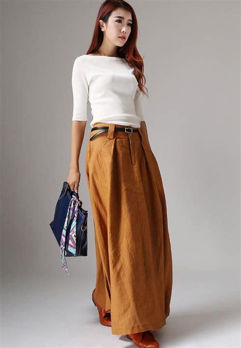 maxi skirts maxi skirt with pockets bohemian skirt