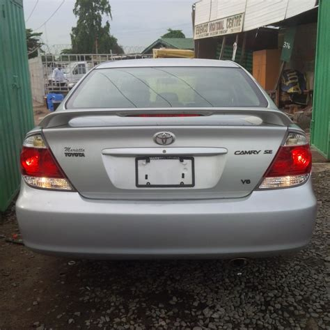 2005 silver toyota camry sold tin can cleared 2005 toyota camry se silver color