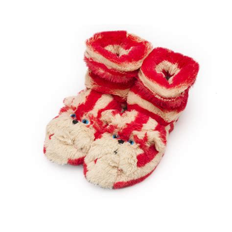 microwavable boot slippers bagpuss boot slippers microwavable fluffy boots