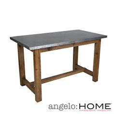 Zinc Top Bar Table Table Ideas For Carmine On Pinterest Bar Tables Dining Tables And Contemporary Dining Table