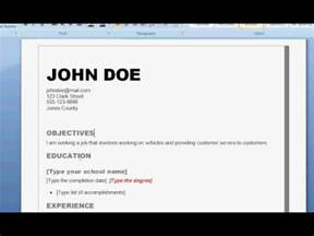 How Do You Write A Resume by How To Write A Resume