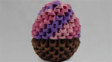 3d origami cake tutorial images frompo how to make a 3d origami cupcake sweets diy tutorial