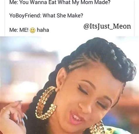 Cardi B Memes - cardi b has me rollin lmfaooo pinterest dean o gorman comment and relationships