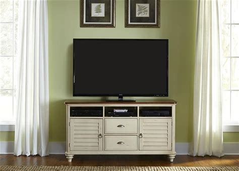 ocean isle bisque and natural pine file cabinet ocean isle 63 inch tv stand in bisque with natural pine