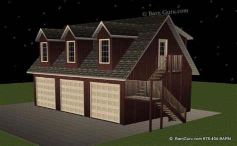 2 Bedroom Living Quarters 3 Car Garage With 1 Bedroom Living Quarters Barn Guru