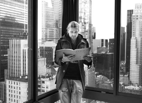 david garrett wohnung new york portrait bert spangemacher fotografiert