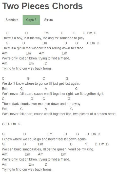demi lovato two pieces lyrics az two pieces chords demi lovato demi lovato pinterest