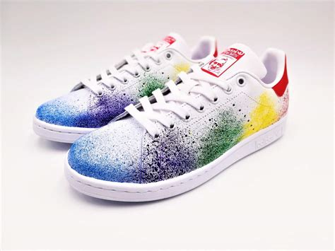 adidas color adidas color splash stan smith g customs