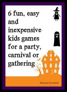 children s halloween party games momma s fun world fun games for kids halloween party