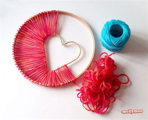 crafts with yarn for yarn craft ideas the idea room
