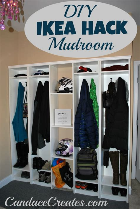 mudroom lockers ikea diy ikea hack mudroom lockers candace playforth