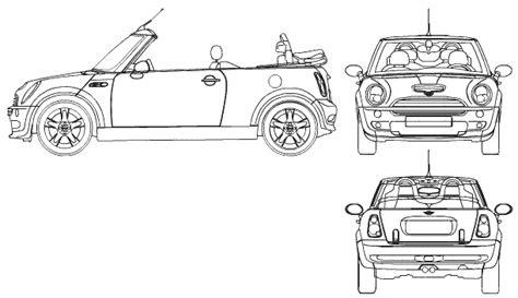 mini car coloring page auto mini cabrio bild bild zeigt abbildung zeichnungen