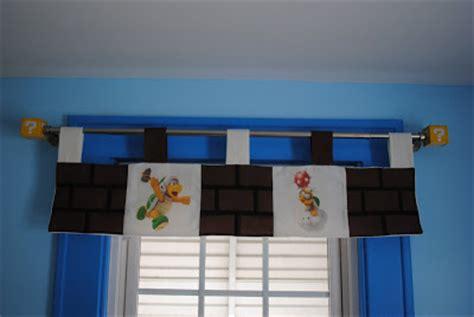 mario bros curtains latent chestnut super mario curtains