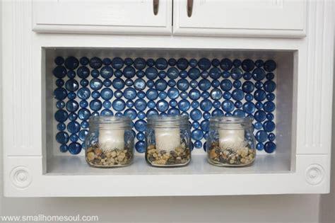 glass bead backsplash dollar store glass backsplash tutorial small home soul