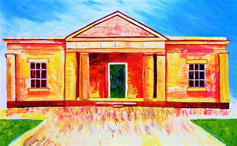 hartley house hartley court house painting by shaun stapleton