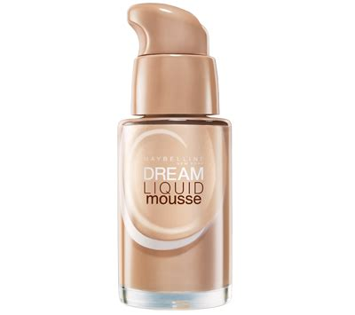 Mascara Berapa liquid mousse foundation by maybelline