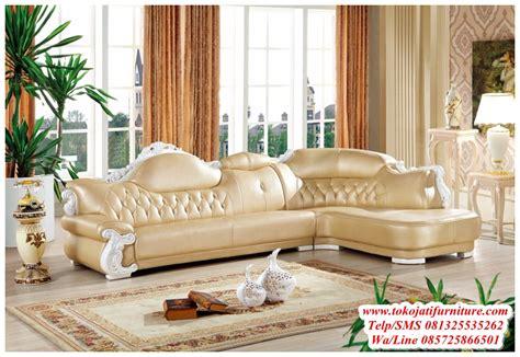 Sofa Ukiran sofa tamu sudut ukiran duco putih www tokojatifurniture