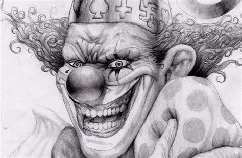 Imagenes Para Dibujar A Lapiz De Payasos | dibujos de payasos diabolicos a lapiz para imprimir