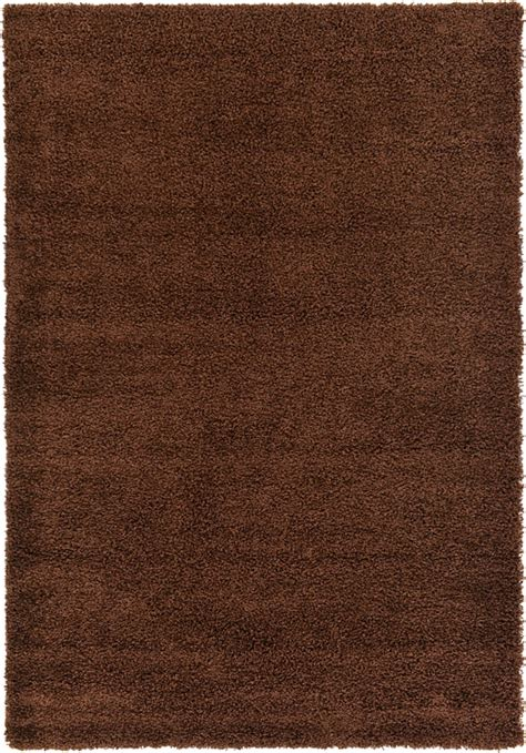 Chocolate Brown Area Rug Chocolate Brown 6 X 9 Solid Shag Rug Area Rugs Irugs Uk