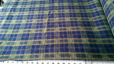 blue and green upholstery fabric blue and green plaid fleece fabric sold by the yard ebay