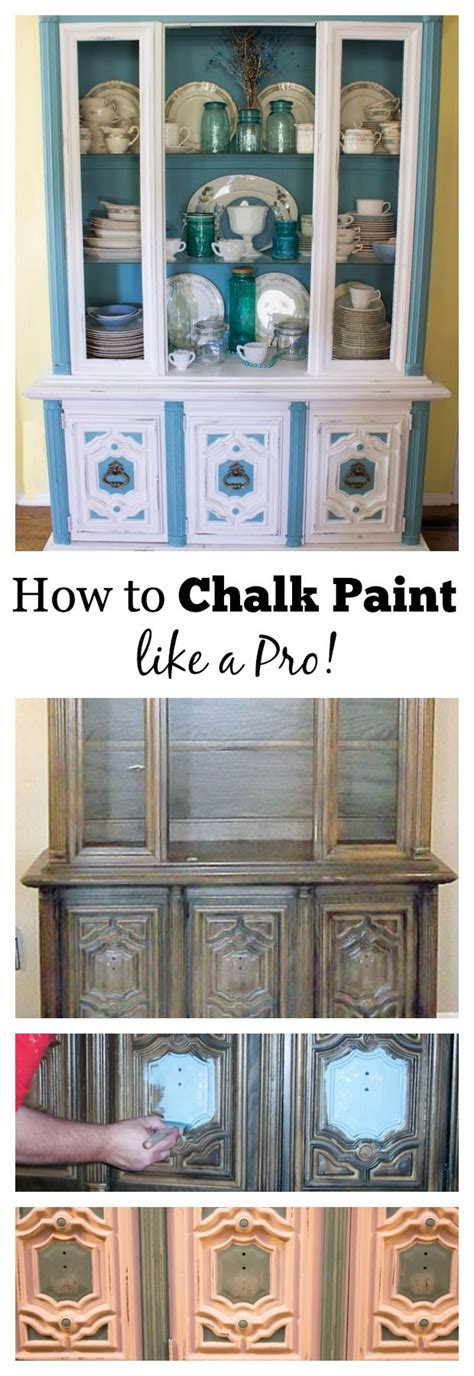 chalk paint tips from the pros hutch makeover picmia