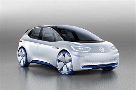 volkswagen id concept with 600 km range unveiled