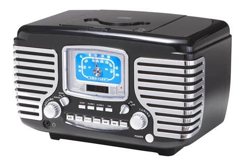 crosley cr bk corsair retro amfm dual alarm clock