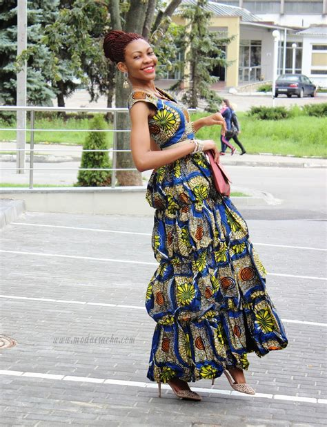 african hairstyles styles of yesterday and today long ankara dress with front slit modern african dress