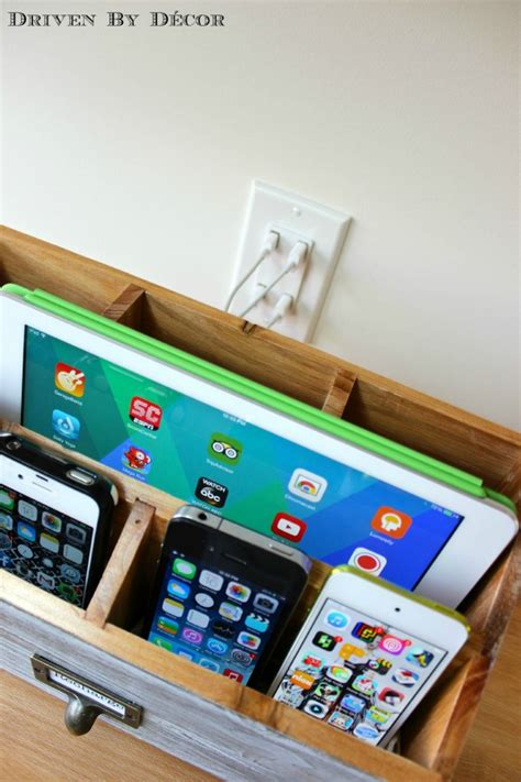Driven By Decor Family Charging Station 25 Organization Hacks Simple As That Bloglovin