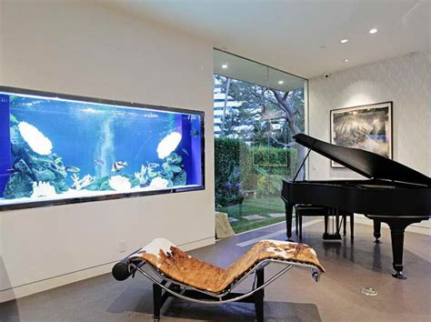 amazing built in aquariums in interior design