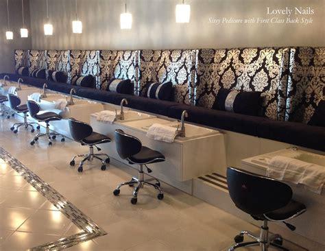 custom pedicure benches michele pelafas nail spa salon design