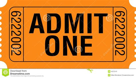 admit one ticket template admit one ticket template exle mughals