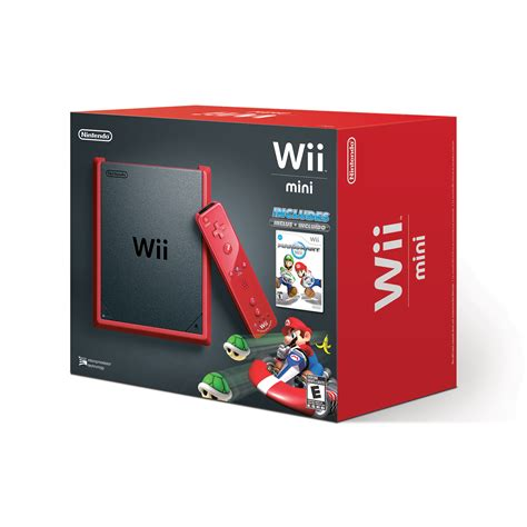 wii u console price wii mini offers big value this season business wire