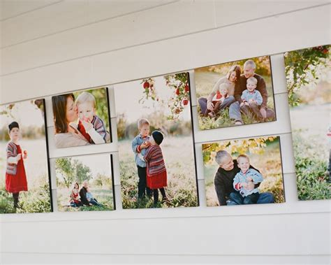 canvas layout ideas fall family portraits on canvas