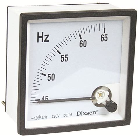 Frekuensi Frequency Hz Meter 45 65 Hz Jarum 72x72 Analog Tab 45 55hz 220v Analog Hz Frequency Panel Meter View Hz