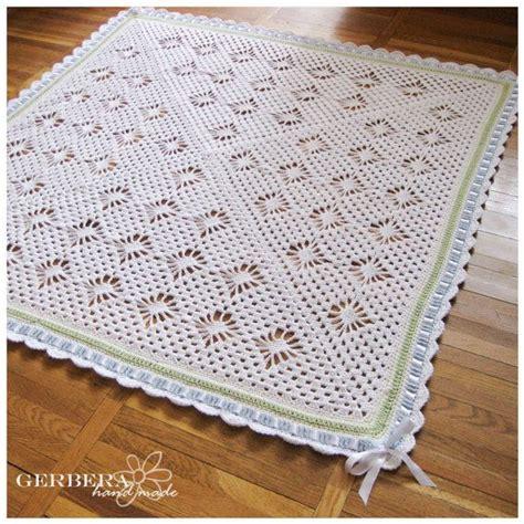crochet baby blanket crib size crochet afghan pastel